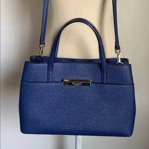Kate Spade saffiano leather crossbody satchel bag